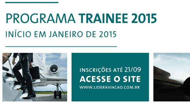 trainee-líder-aviação