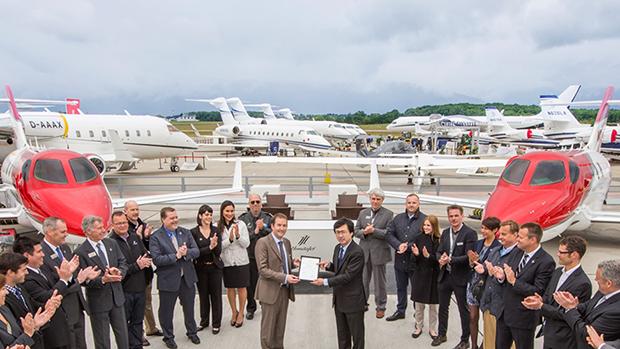 Com a certificação, o HondaJet inicia as operações na Europa