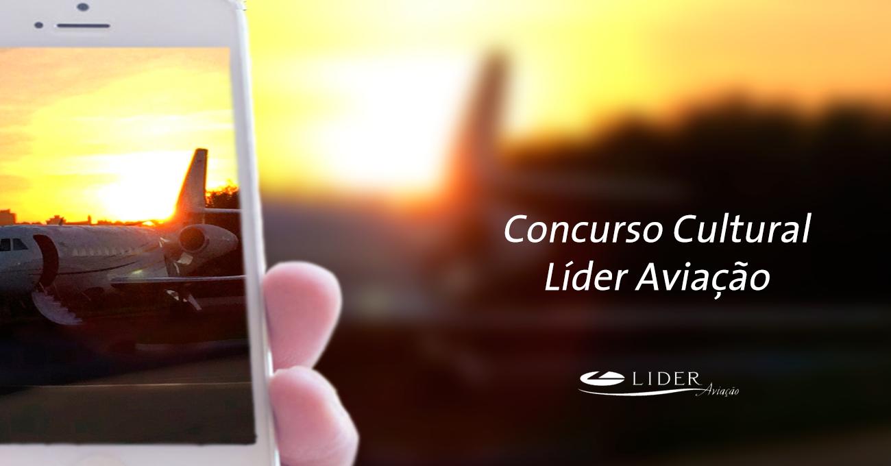 Concurso Cultural Líder Aviação no Instagram