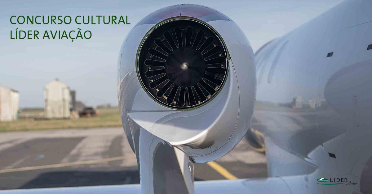 Concurso Cultural Instagram - Turbinas de aeronaves